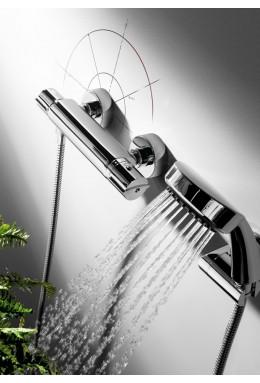 Termostatico esterno doccia Flat